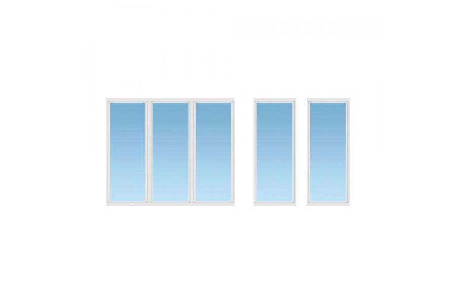 Балкон ПВХ №02