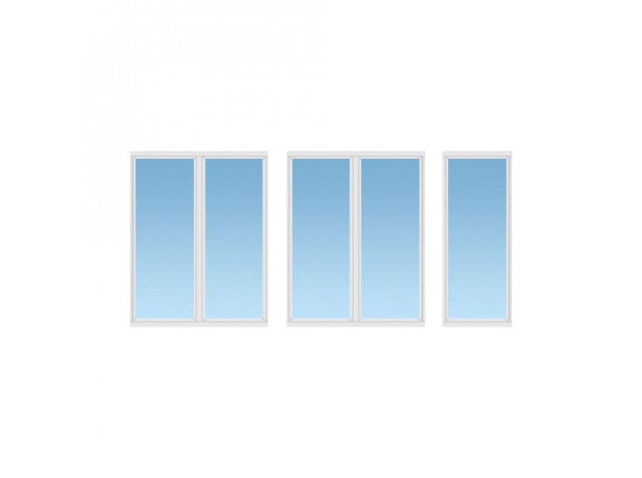 Балкон ПВХ №01