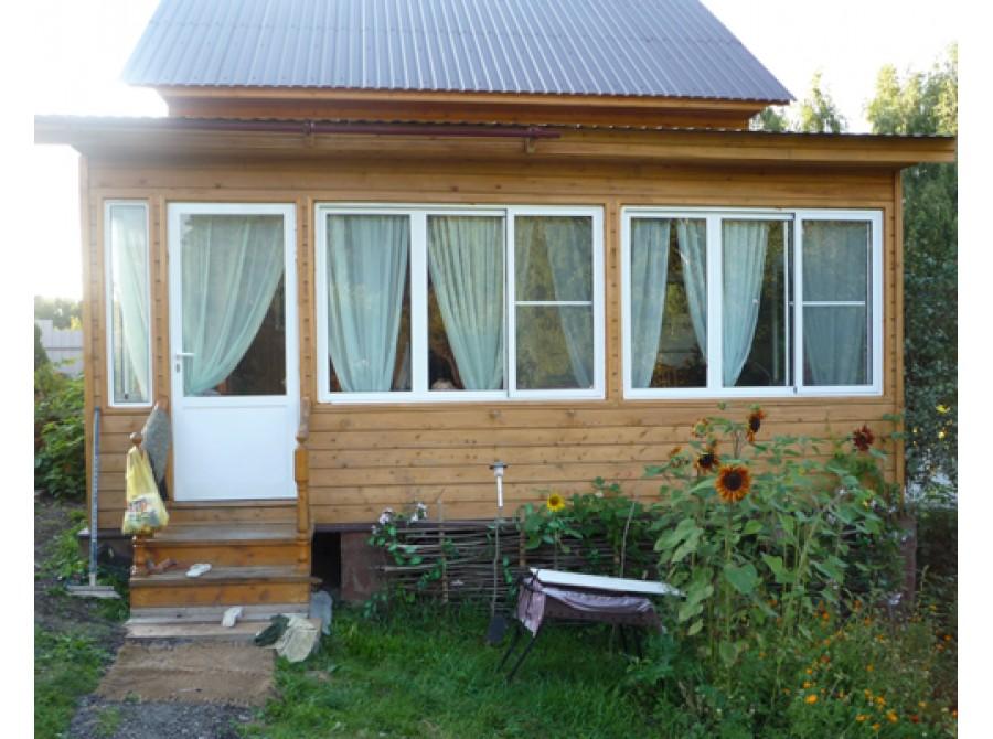 Окно ПВХ для дачи №06
