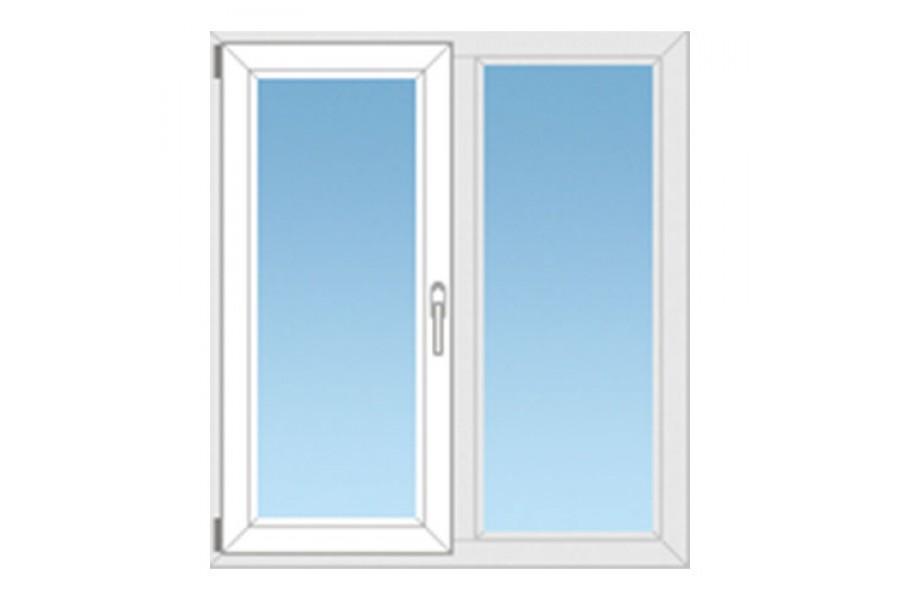 Пластиковое окно ПВХ №04