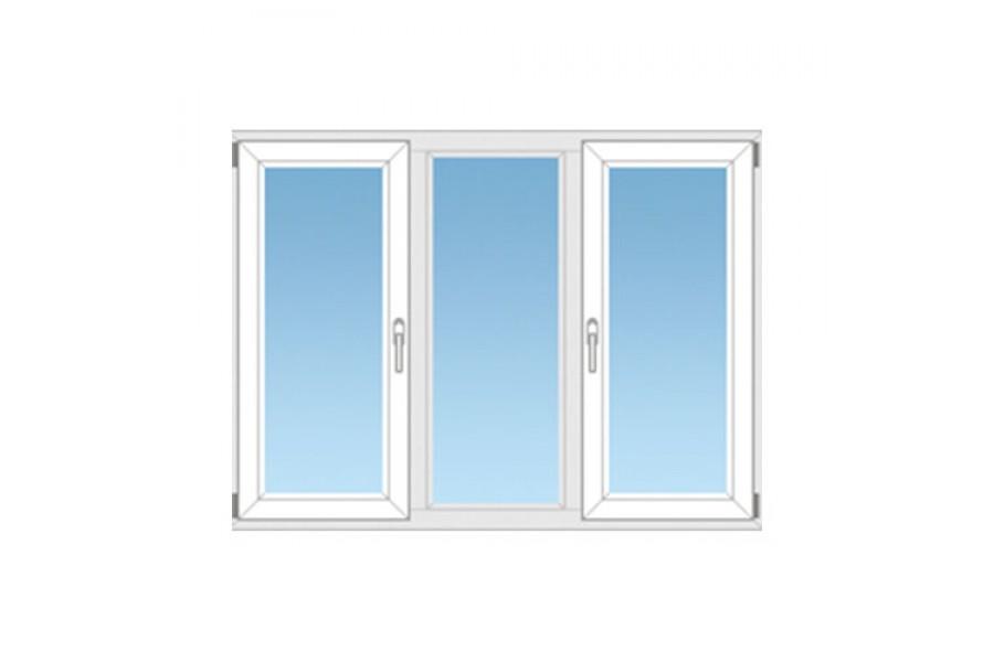 Пластиковое окно ПВХ №10