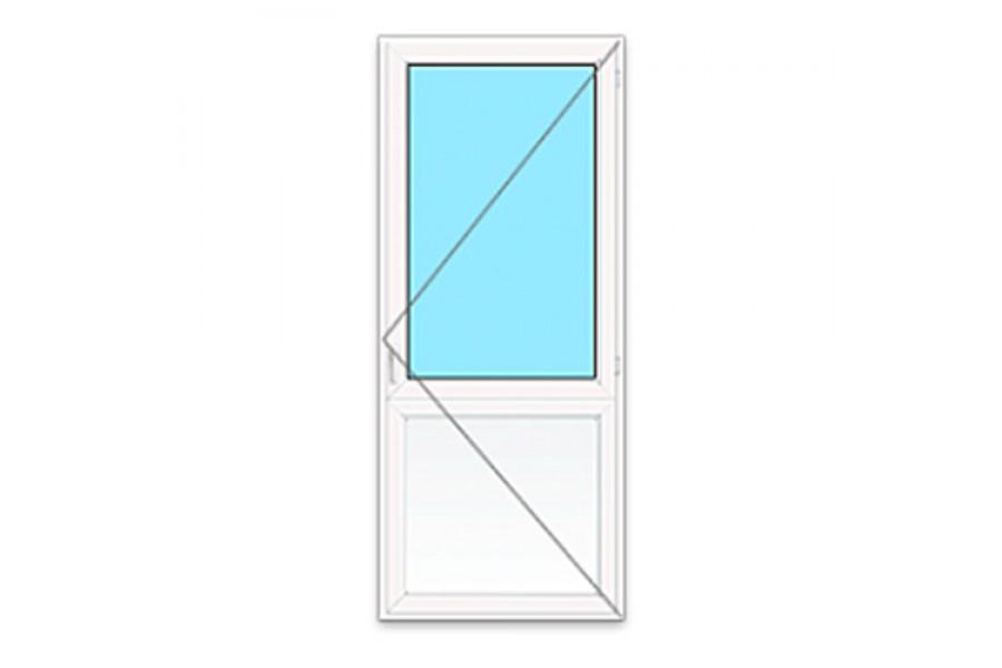 Пластиковая дверь ПВХ на улицу №02