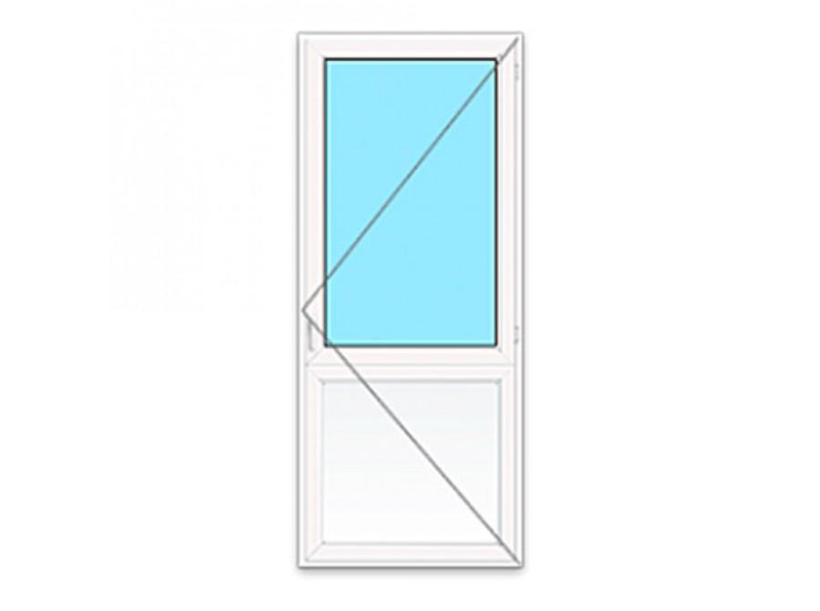 Пластиковая дверь ПВХ в ванну №01
